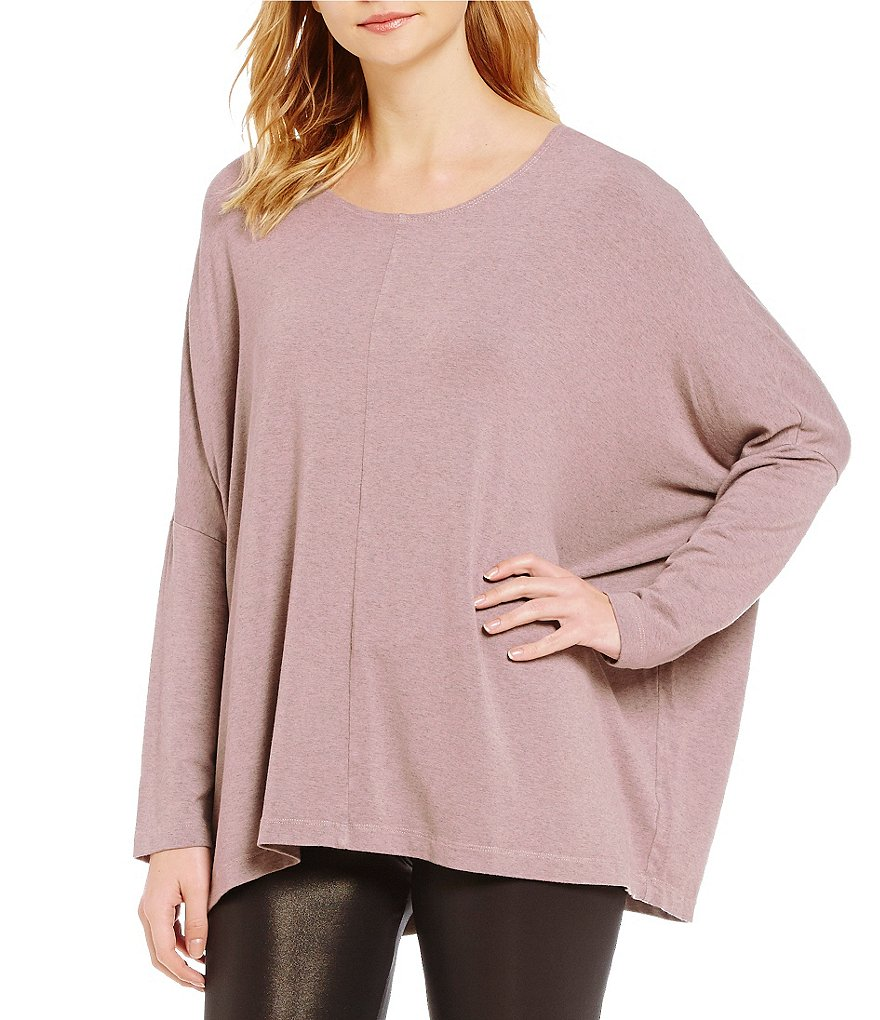Bryn Walker Alan Crew Neck Long Sleeve Solid Tunic