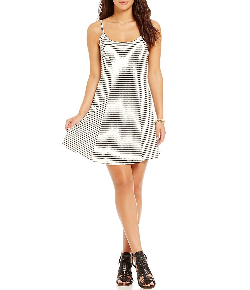 Billabong Same Dance Fit-and-Flare Dress