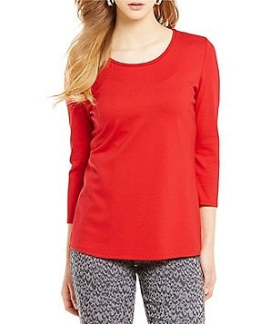 Nygard Collection Crew Neck Top