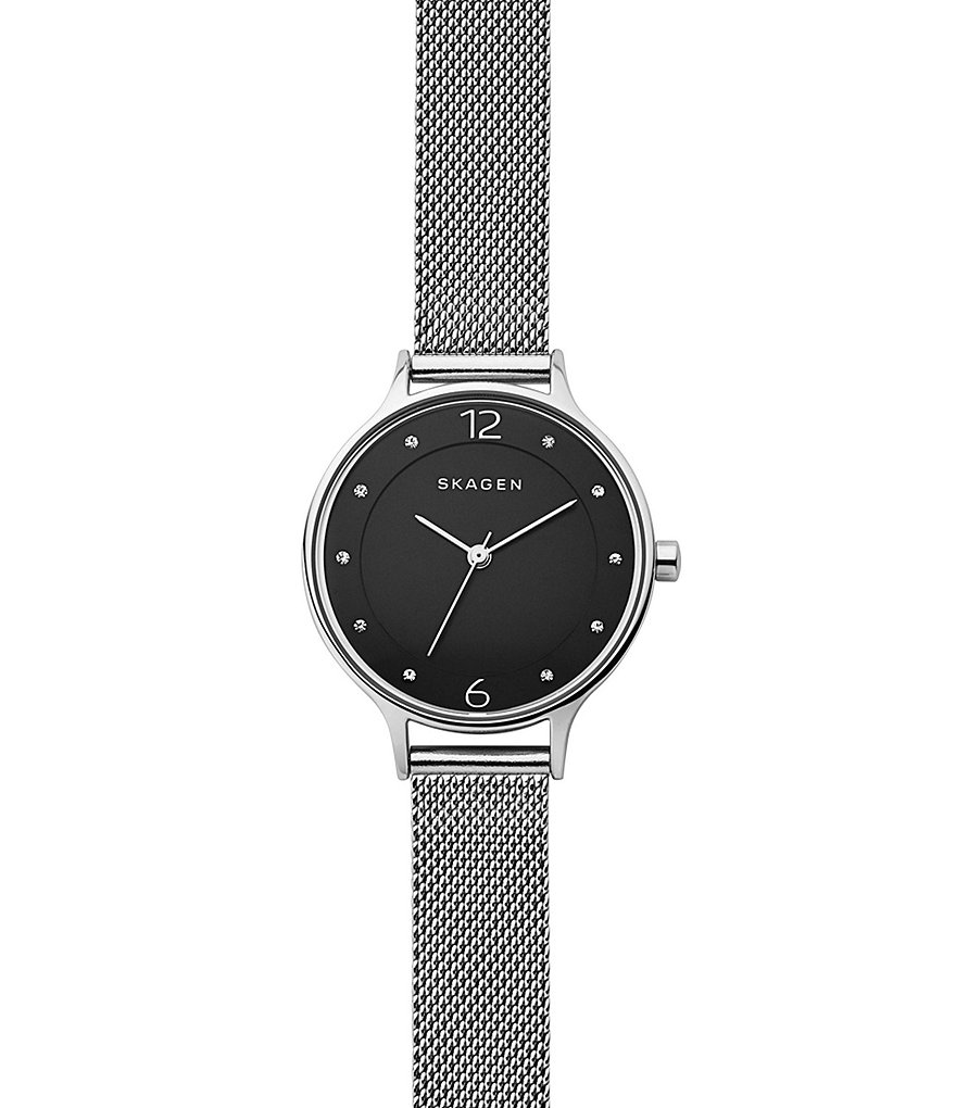 Skagen Anita Analog Mesh Bracelet Watch