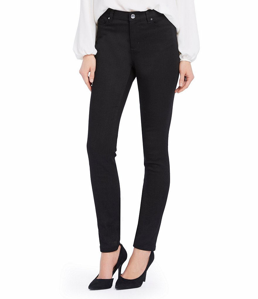 Ellen Tracy Stretch Denim Skinny Jeans