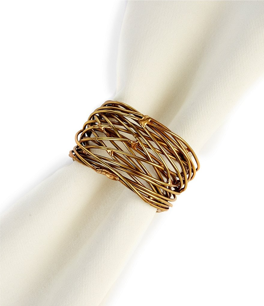 Southern Living Intertwined Metal Napkin Ring