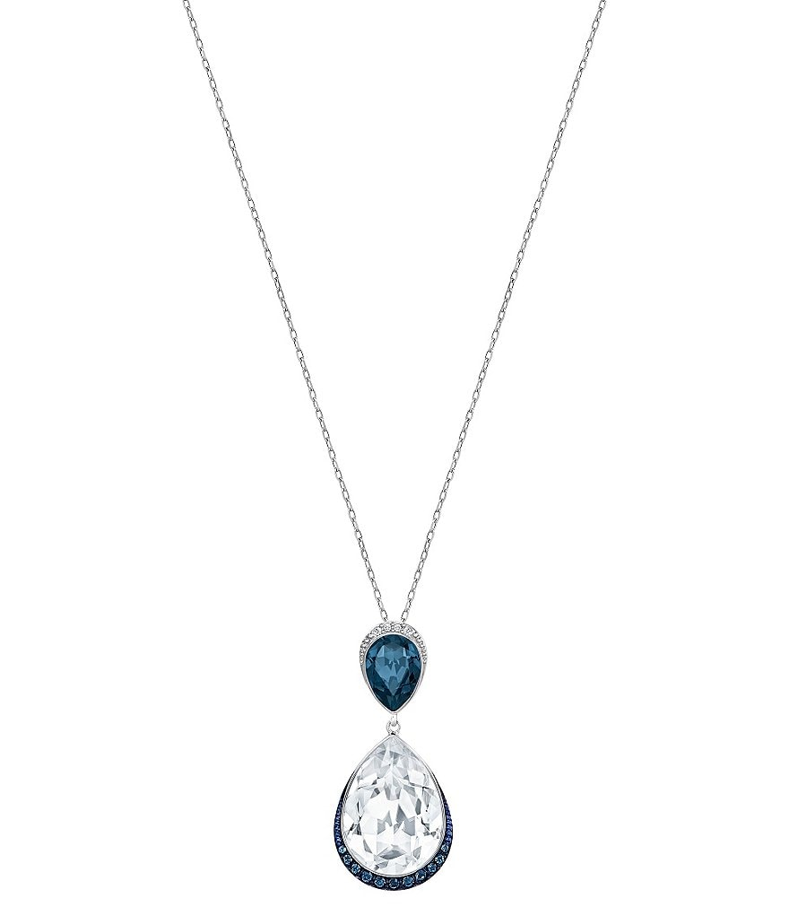 Swarovski Feel Teardrop Pendant Necklace