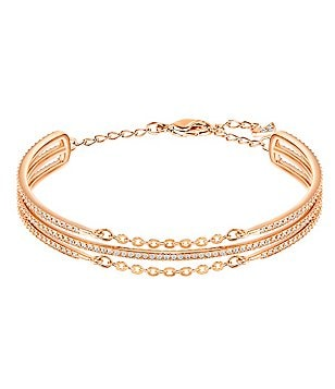 Swarovski Fine Pavé Stacked Bangle Bracelet