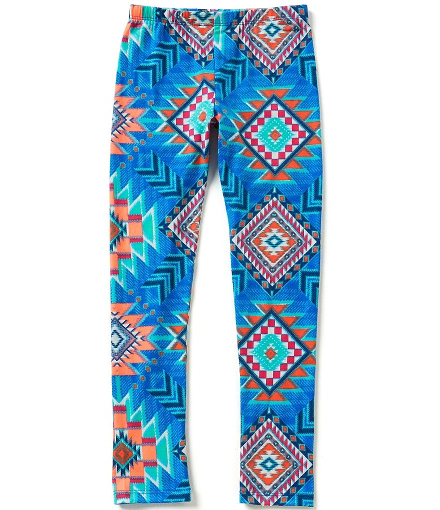 Takara Big Girls 7-16 Knit Printed Leggings