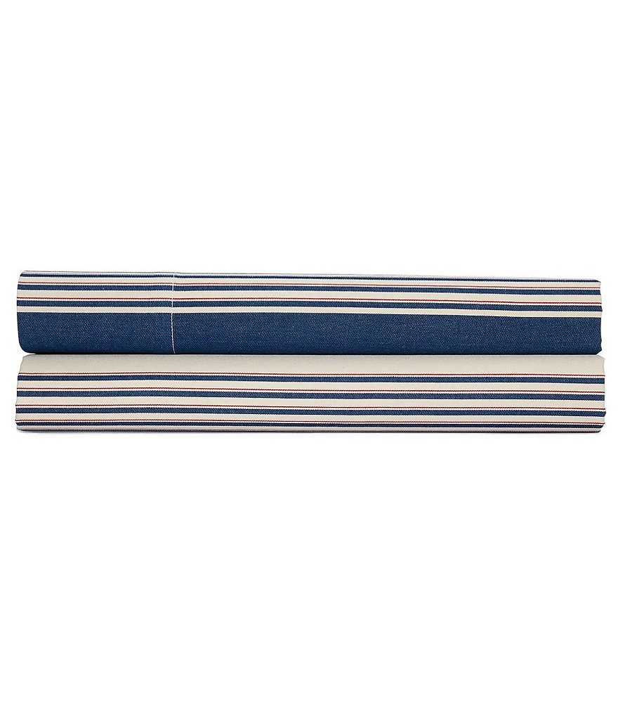 Ralph Lauren Saranac Peak Collection Corbet Striped Sheets