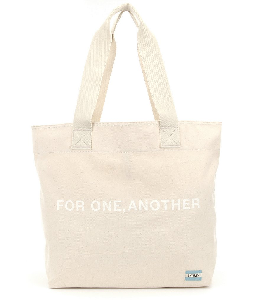 TOMS Transport For One, Another Canvas Tote