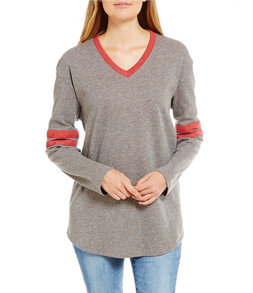 Lauren James Baseball Long-Sleeve Jersey Tee