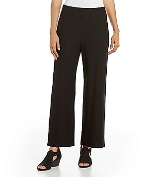 Eileen Fisher Petites Wide Ankle Pants