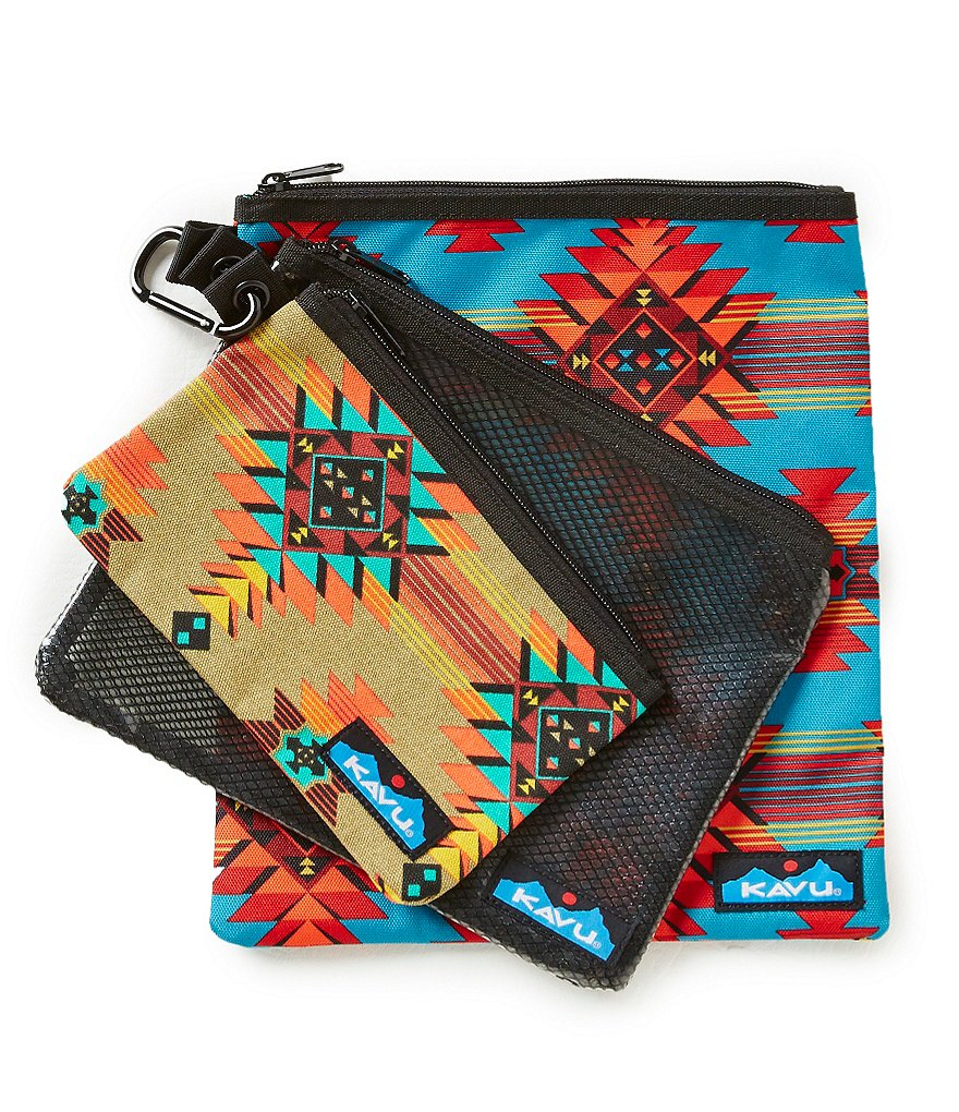 Kavu Goodie 3-Piece Pouch Set