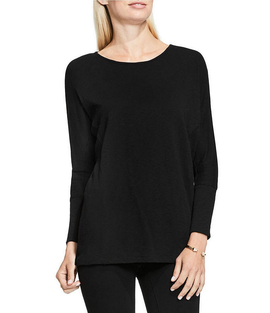 Two By Vince Camuto Beaded Shoulder Seam Saturday Shirt
