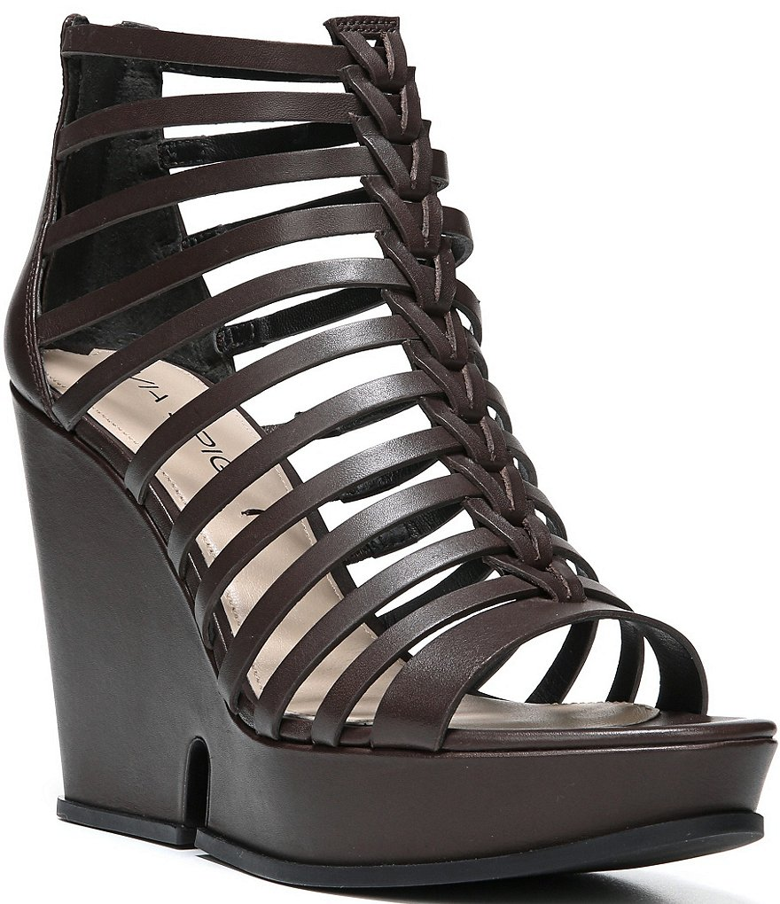 Via Spiga Walena Gladiator Wedge Sandals