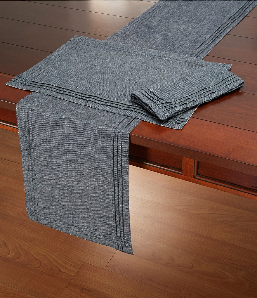 Southern Living Linen Twill Table Linens