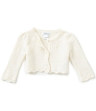 Ralph Lauren Childrenswear Baby Girls 3-24 Months Wool-Blend Shrug