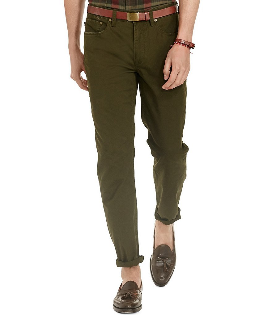 Polo Ralph Lauren Hampton Straight-Fit Pants
