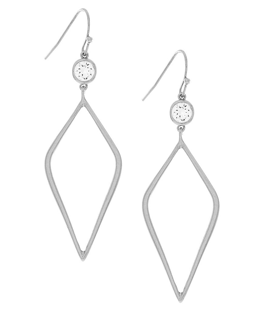 Jessica Simpson Diamond Drop Earrings