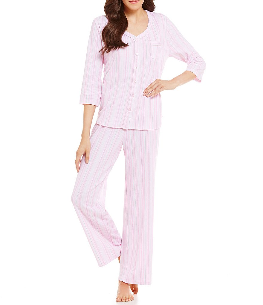 Karen Neuburger Striped Pajamas