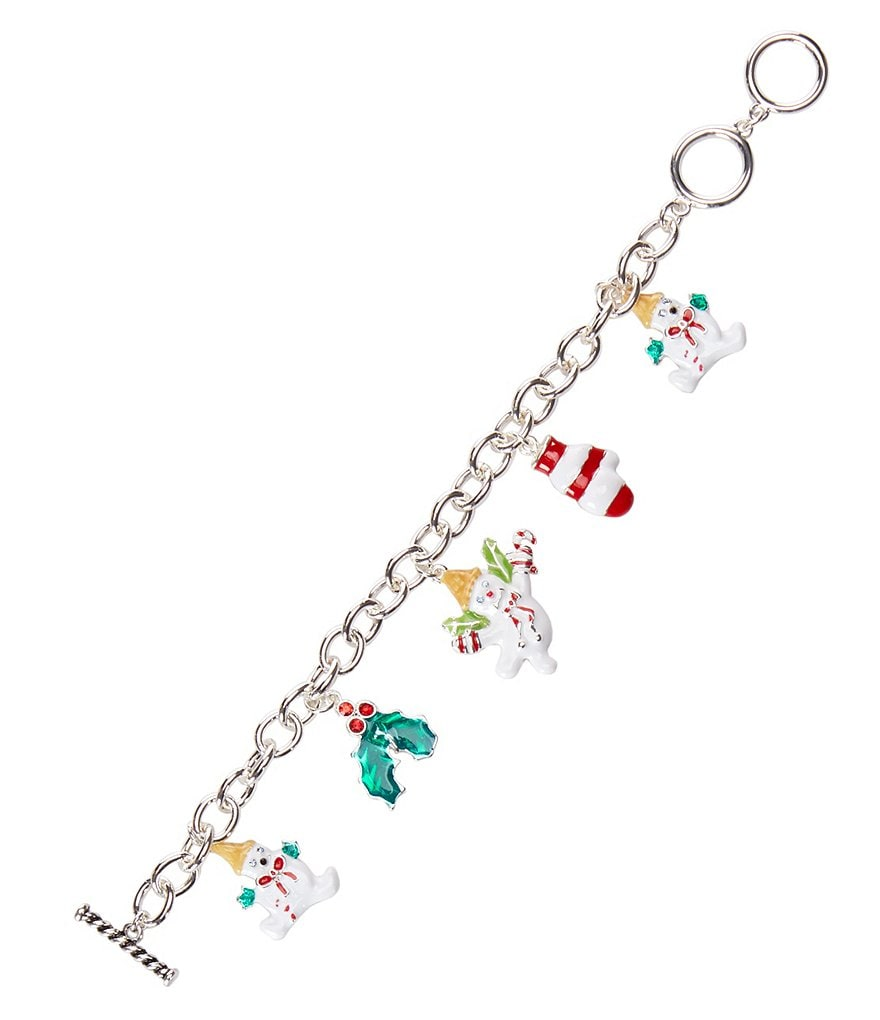 Merry & Bright Mr. Bingle Charm Bracelet