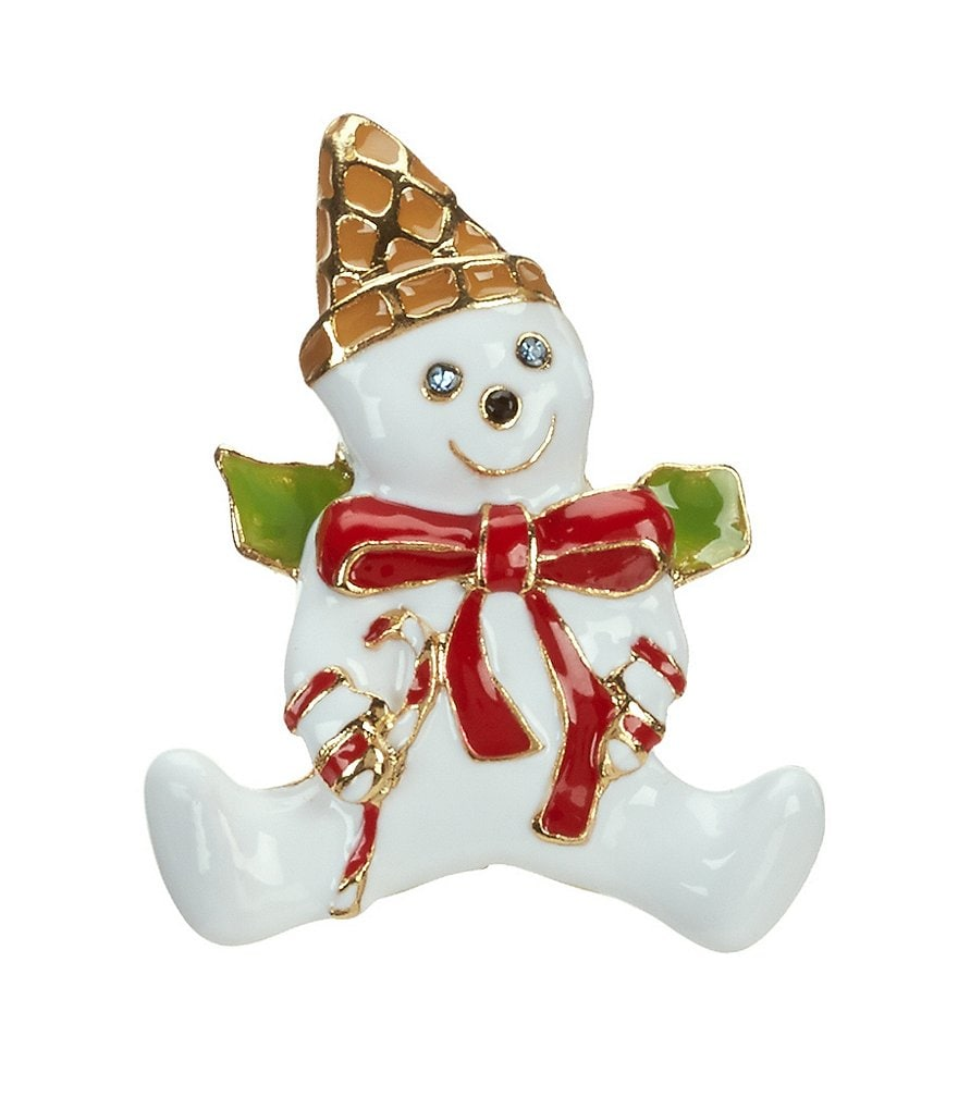 Merry & Bright Mr. Bingle Pin