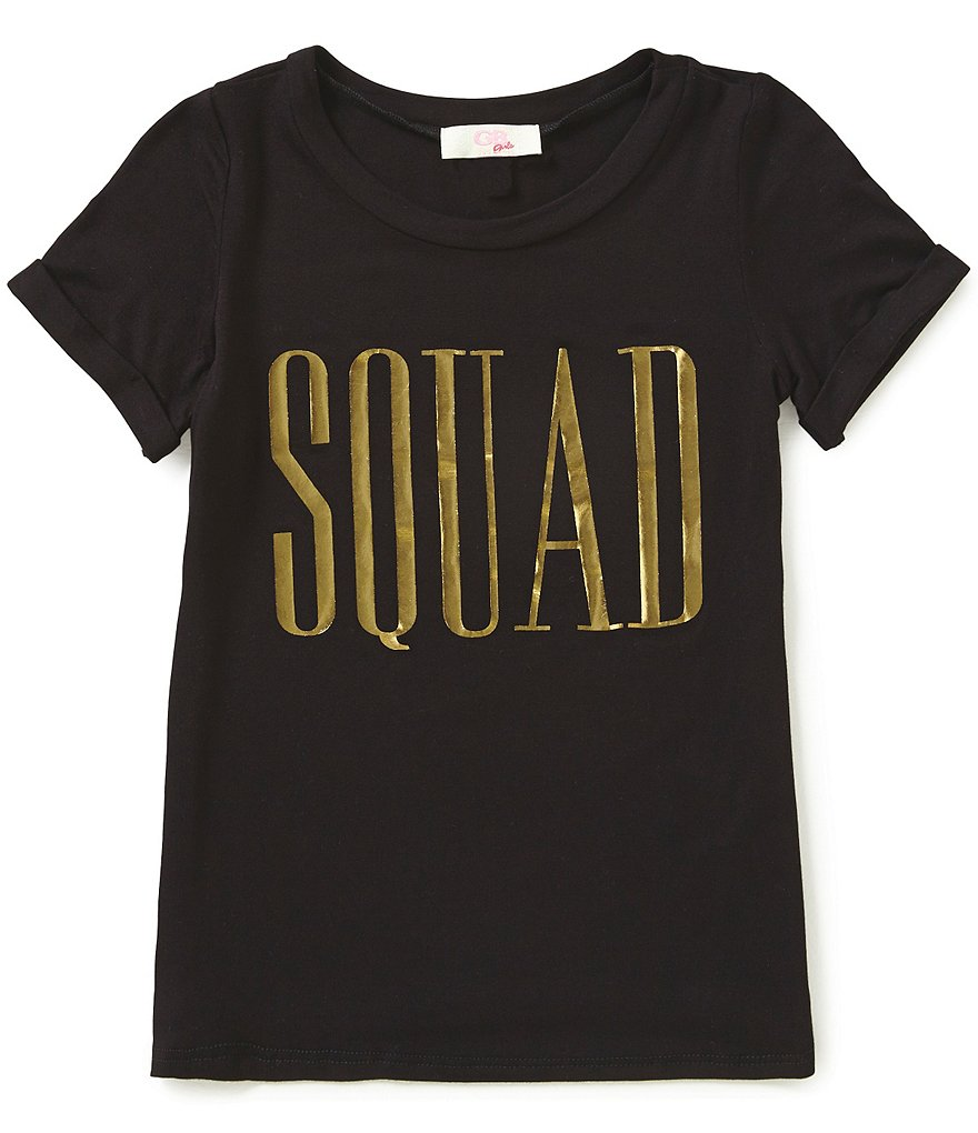 GB Girls Big Girls 7-16 Squad Graphic Tee