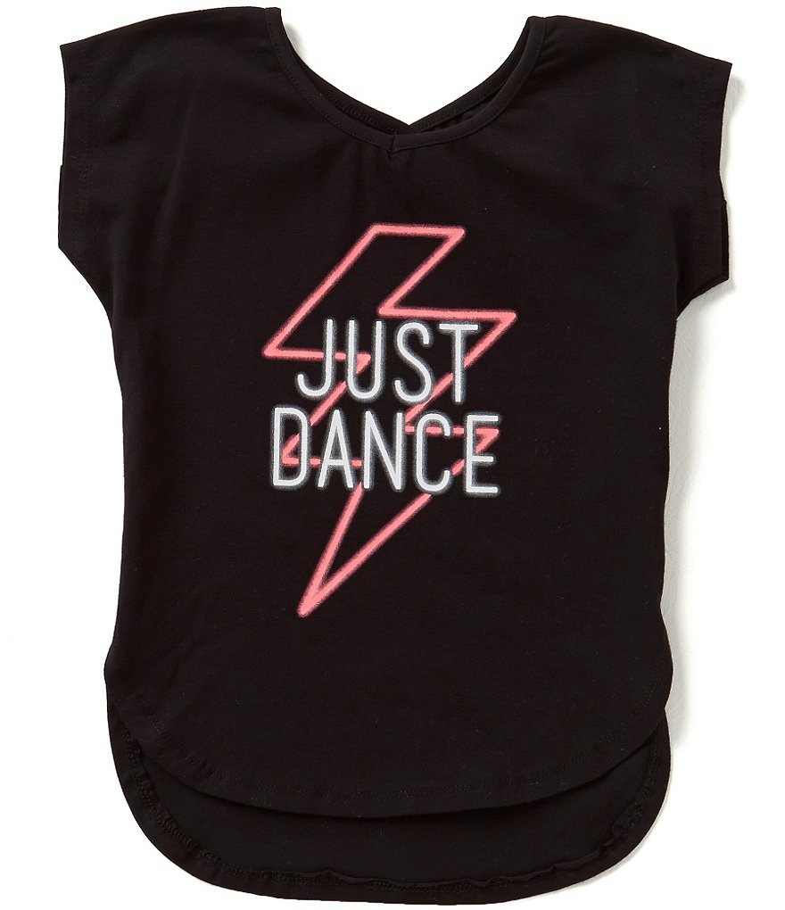 GB Girls Big Girls 7-16 Just Dance Tee