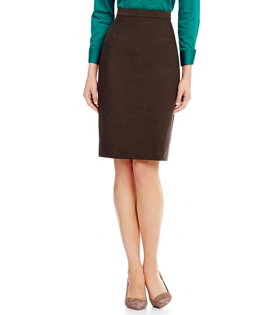 Antonio Melani Mel Stretch Twill Pencil Skirt