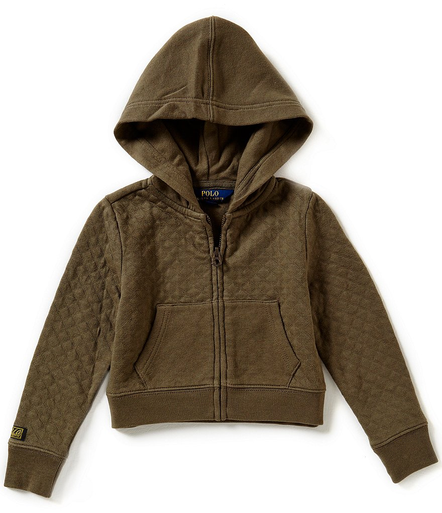 Ralph Lauren Childrenswear Little Girls 2T-6X Quilted Hoodie
