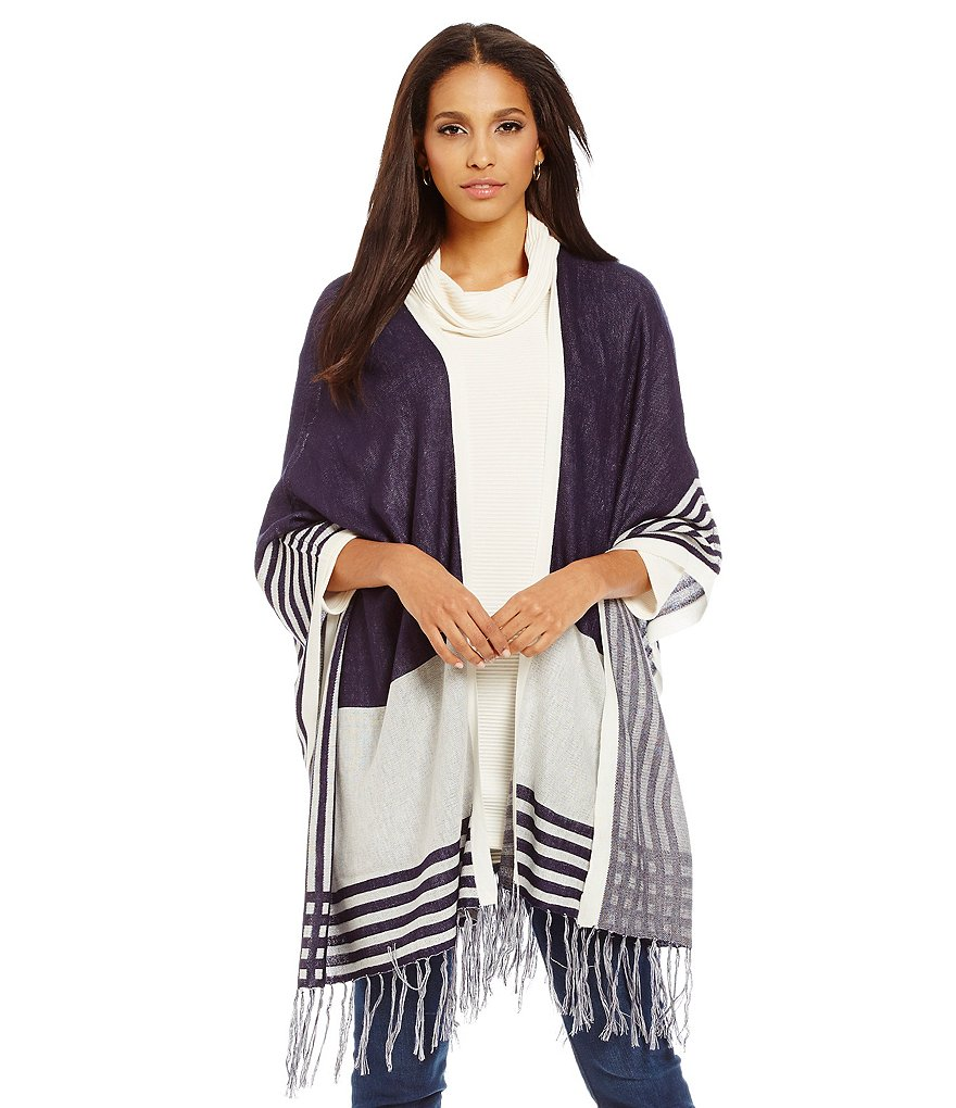 Cremieux Katelyn Stripe Cardigan