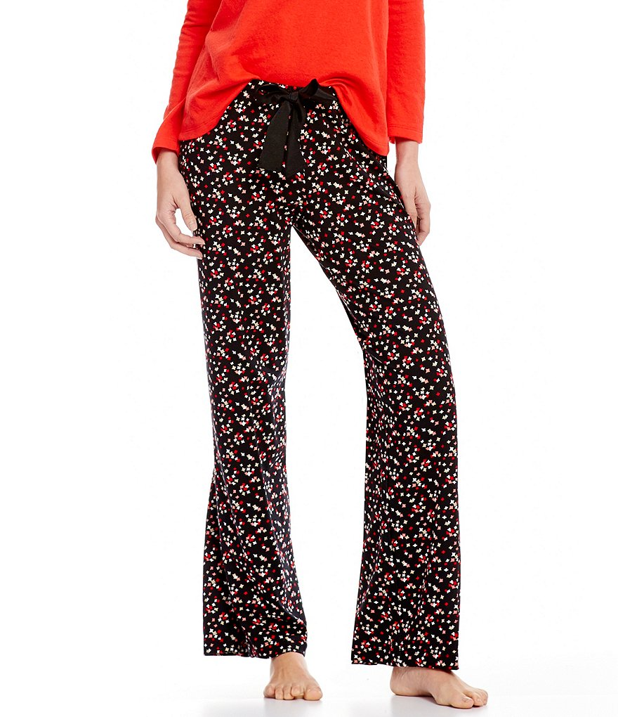 HUEtopia Diamond Dust Sparkly Sleep Pants