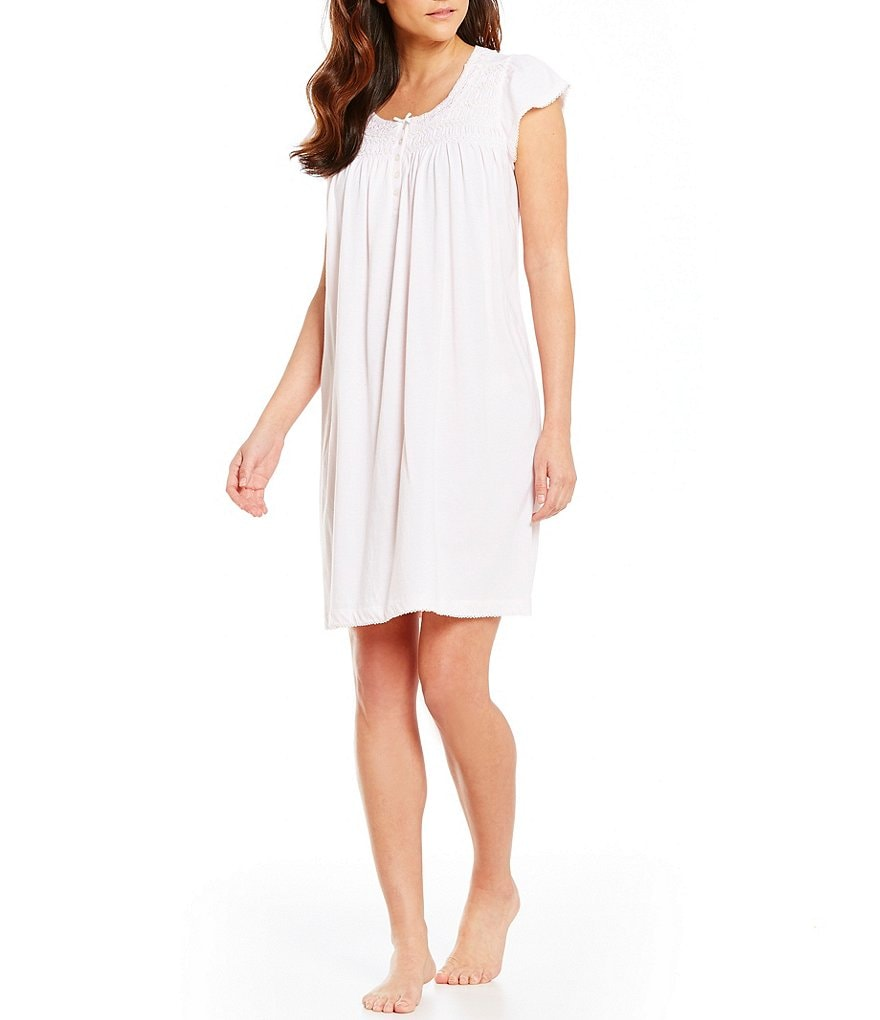 Miss Elaine Silky-Knit Nightgown