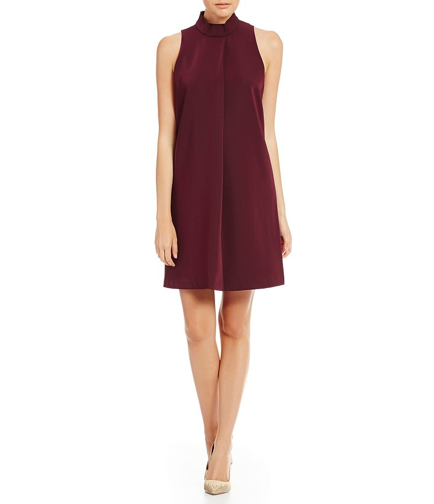 Katherine Kelly Julia Sleeveless Mock Neck Dress