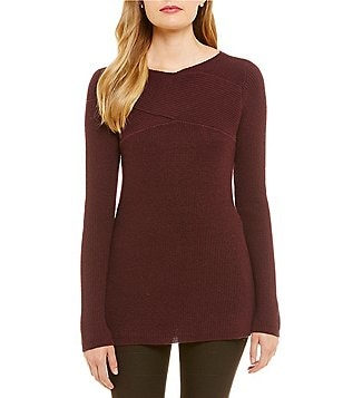 Katherine Kelly Ramona Long Sleeve V-Neck Knit