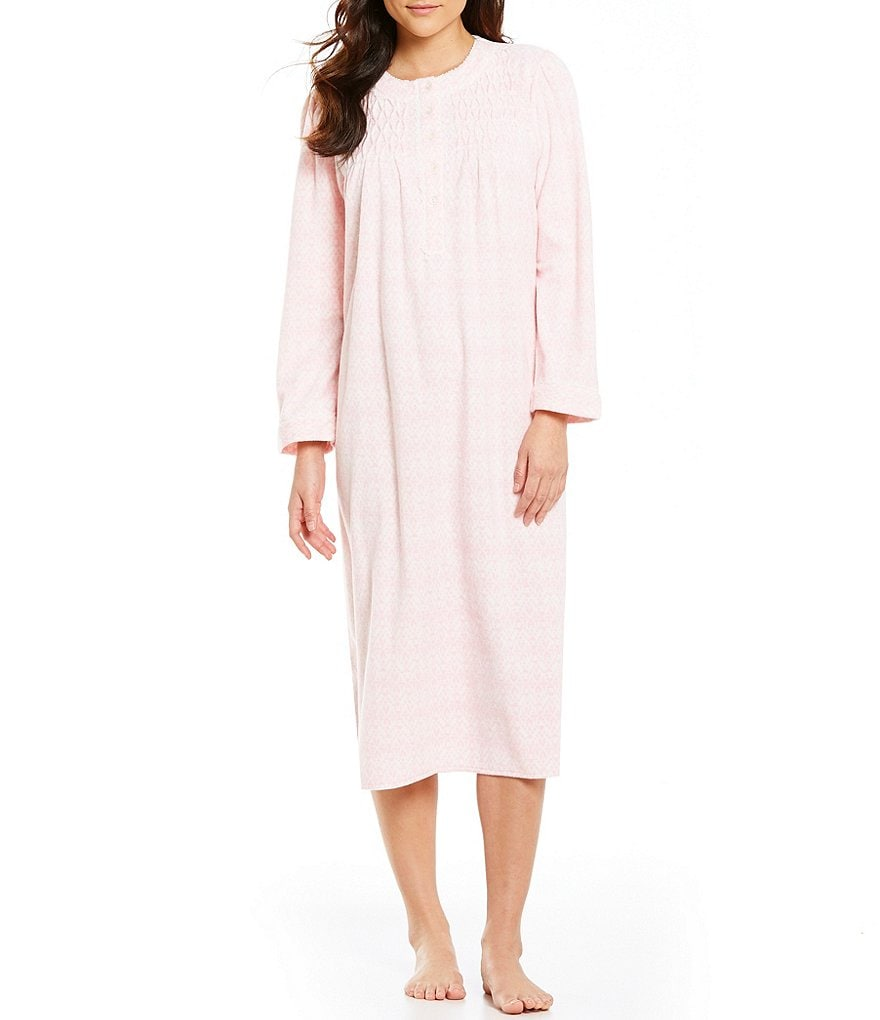 Miss Elaine Microfleece Nightgown
