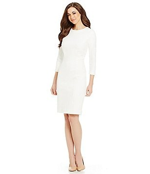 Antonio Melani Suzanne Ponte Sheath Dress