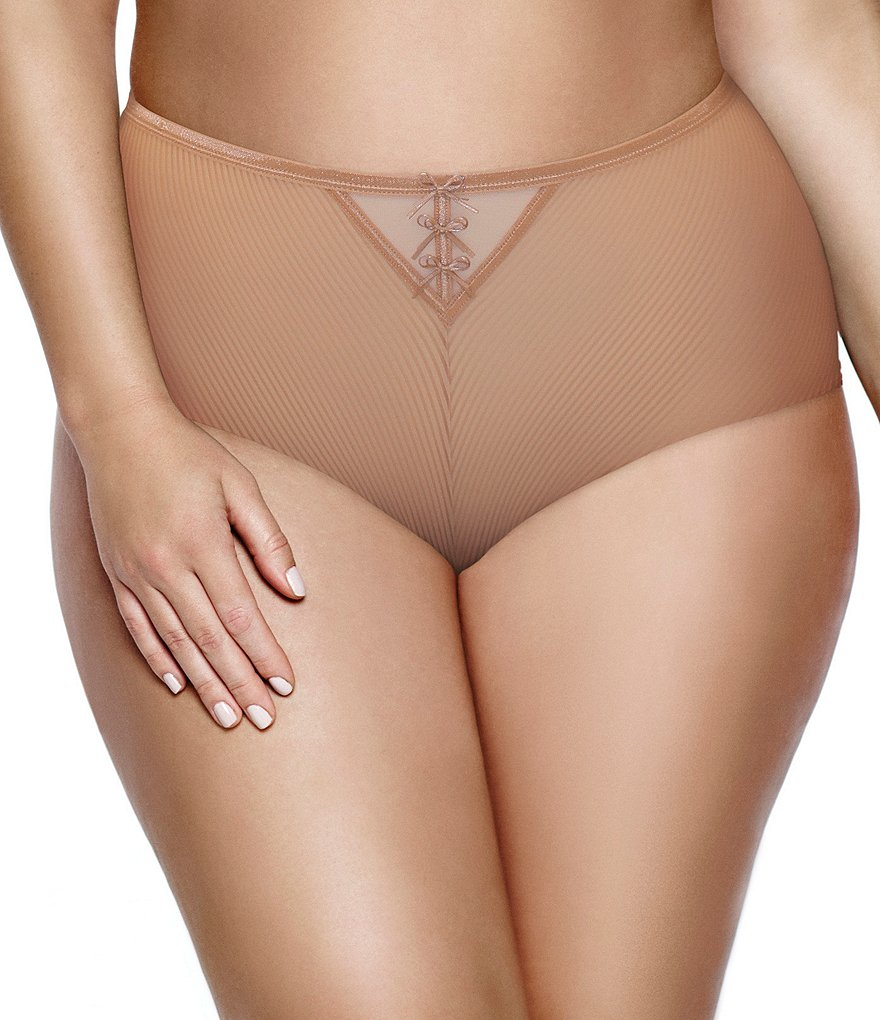 Ashley Graham Plus Essential Boy Short Panty