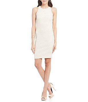 Belle Badgley Mischka Sleeveless Vail Dress