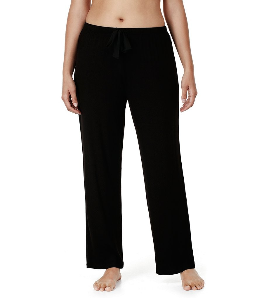 DKNY Plus Jersey Knit Sleep Pants
