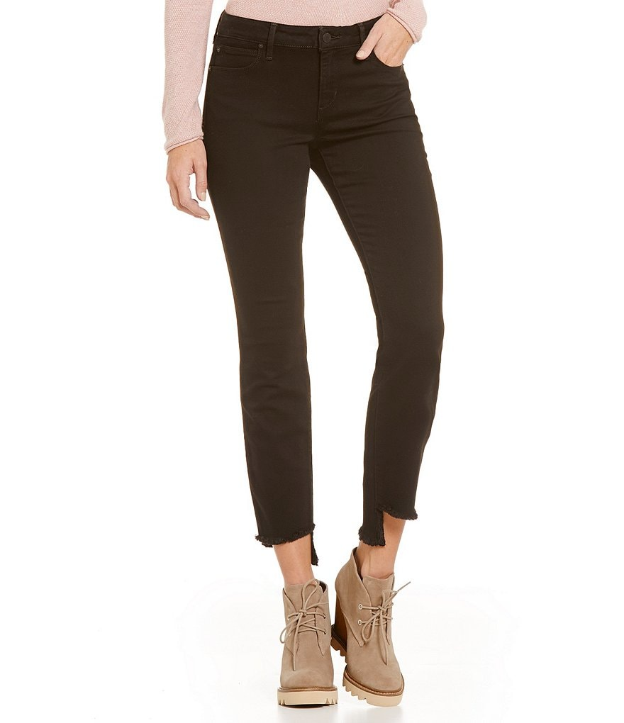 Joe´s Jeans Raw Step Up Hem Regan Blondie Skinny Ankle Jeans