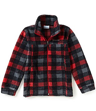 Columbia Big Boys 8-20 Zing® III Printed Fleece Jacket