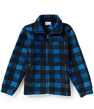 Columbia Zing® III Big Boys Printed Fleece Jacket