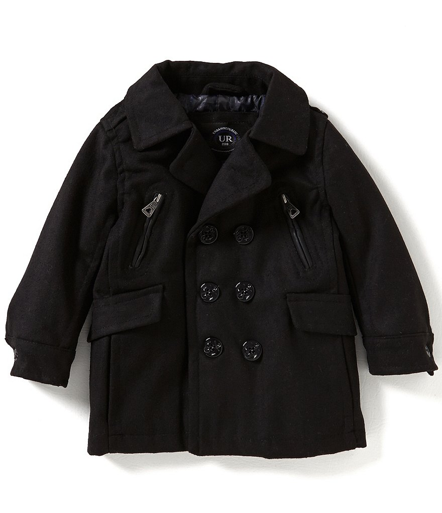 Urban Republic Little Boys 2T-7 Wool Coat