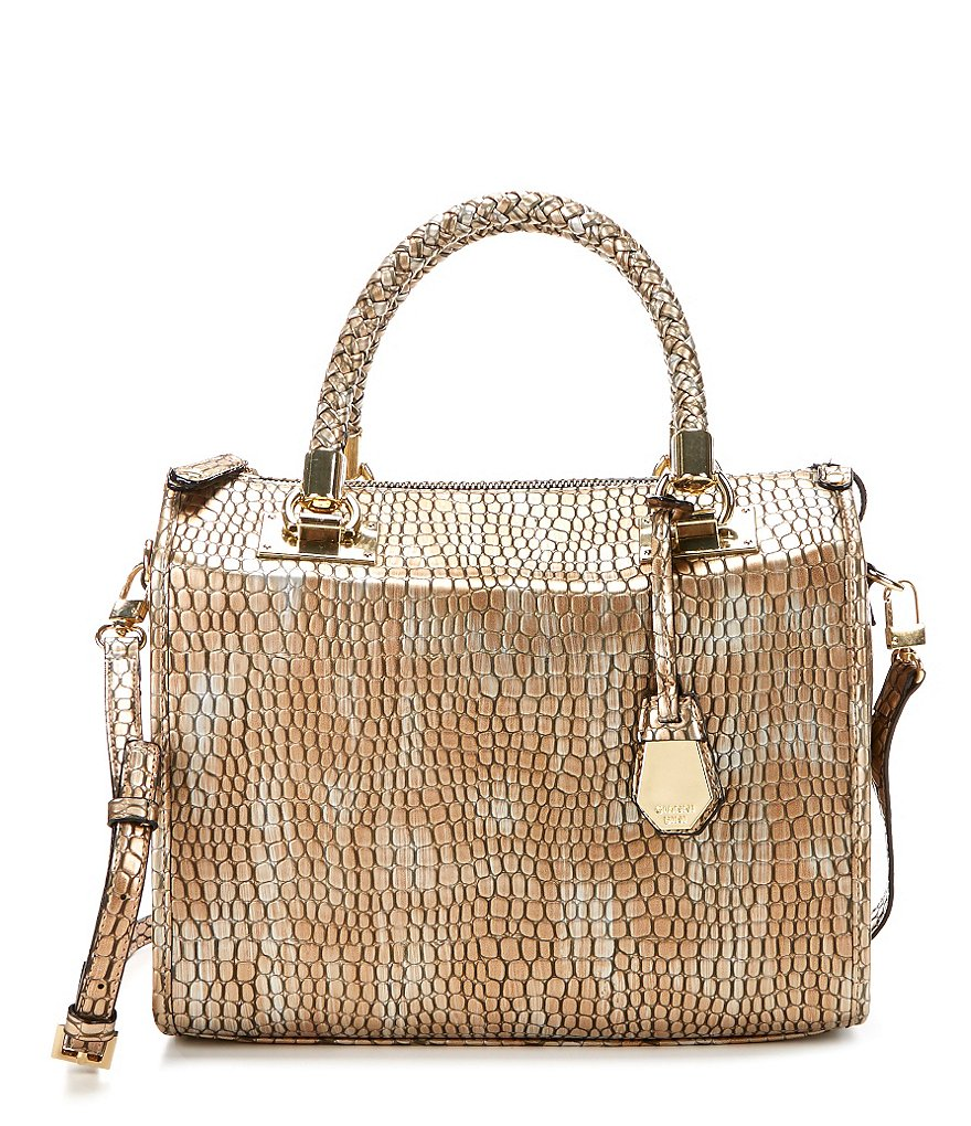 Gianni Bini Braided-Handle Satchel