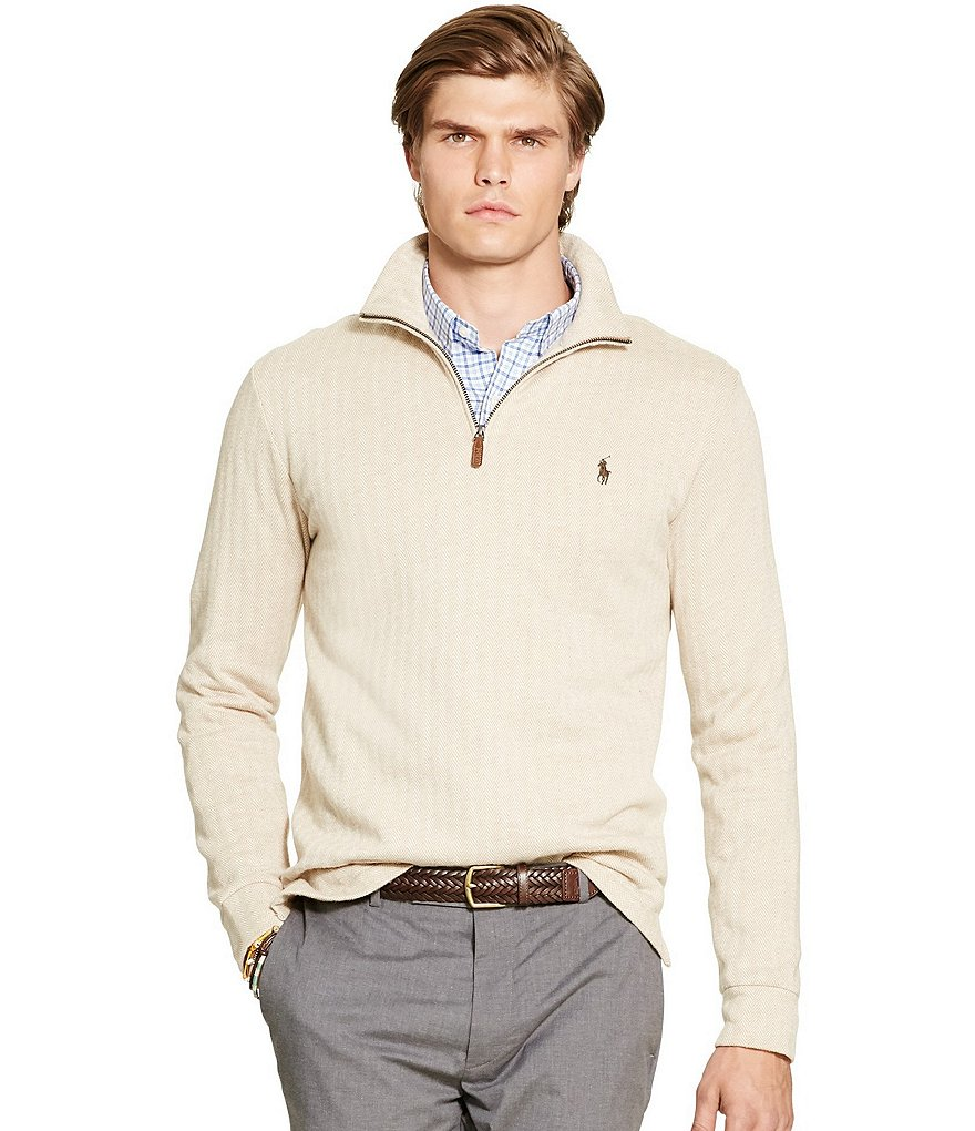 Polo Ralph Lauren Jacquard Fleece Pullover