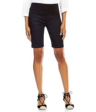 Intro Kim 5-Pocket Pull-On Bermuda Shorts