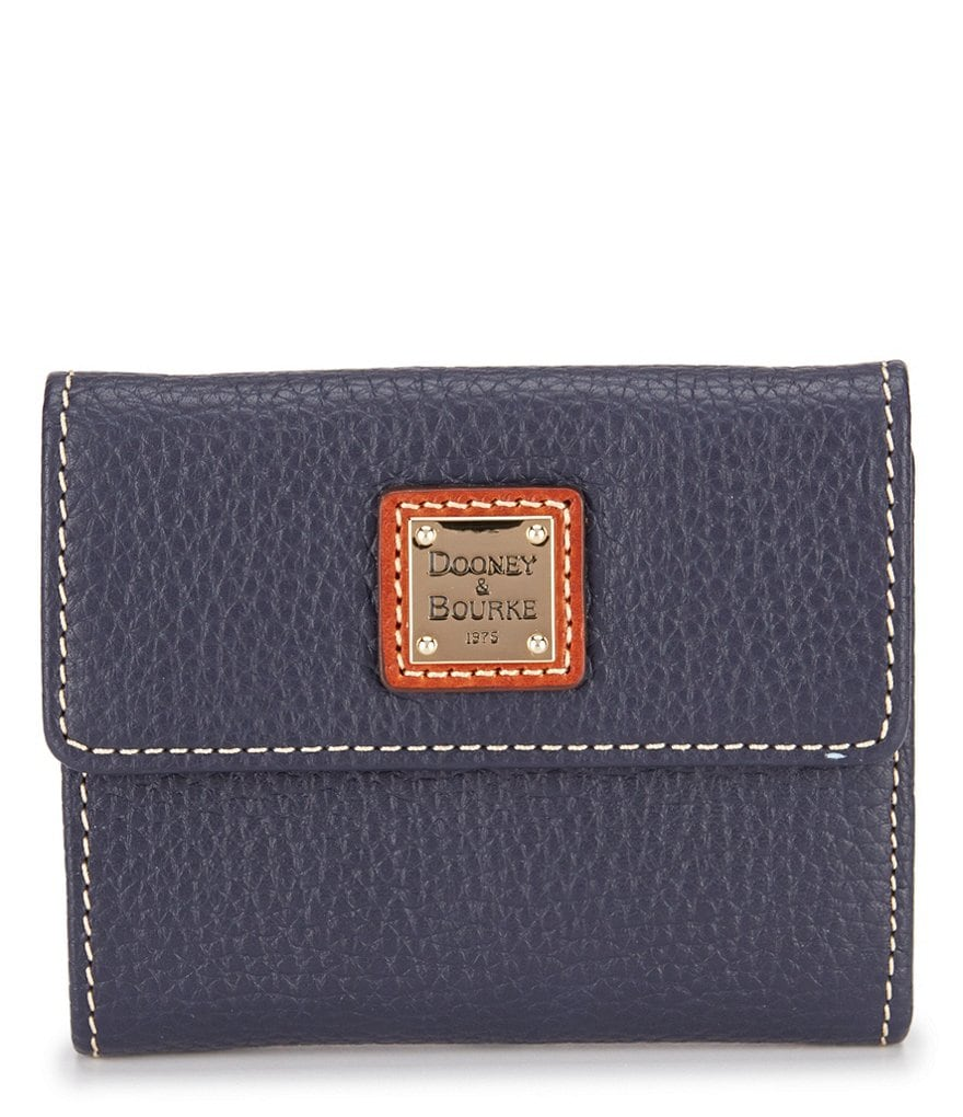 Dooney & Bourke Pebble Collection Small Credit Card Wallet