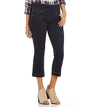 Jag Jeans Marion Pull-On Denim Crop Jean