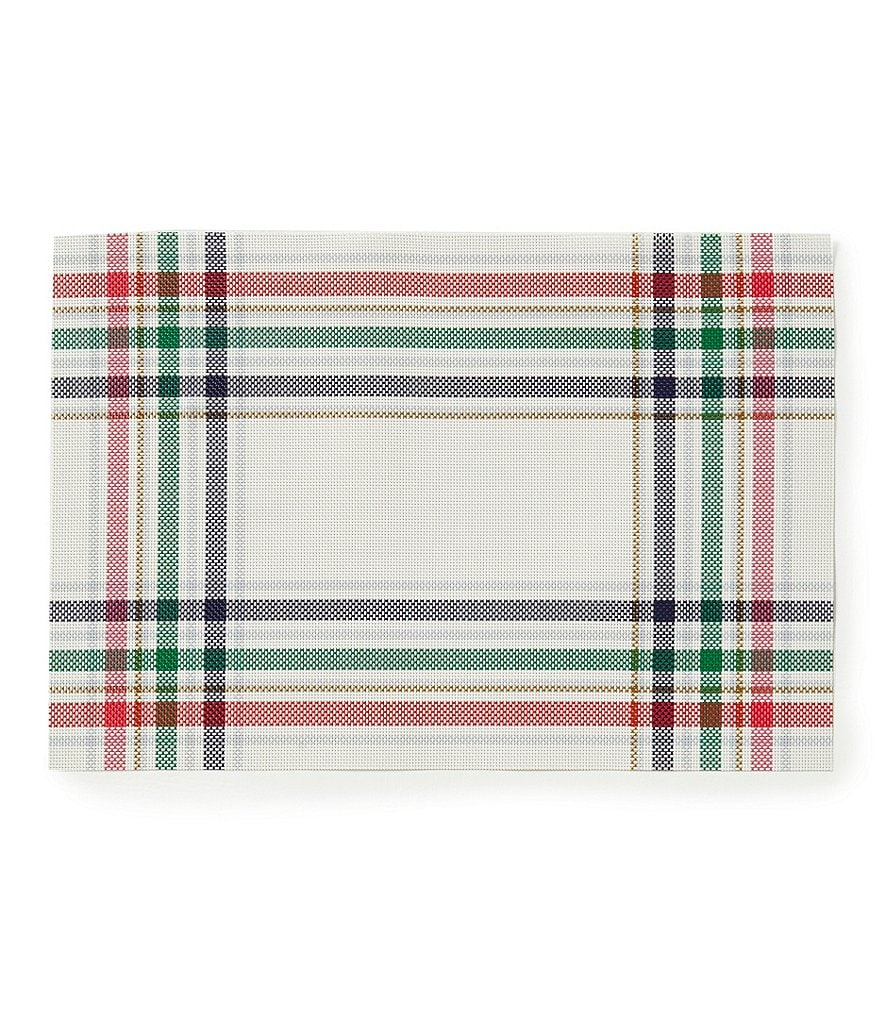 kate spade new york Frost Street Plaid Woven Placemat