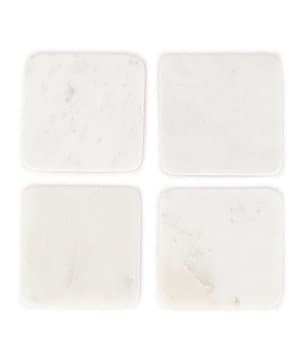 Southern Living Marble Coasters, Set of 4