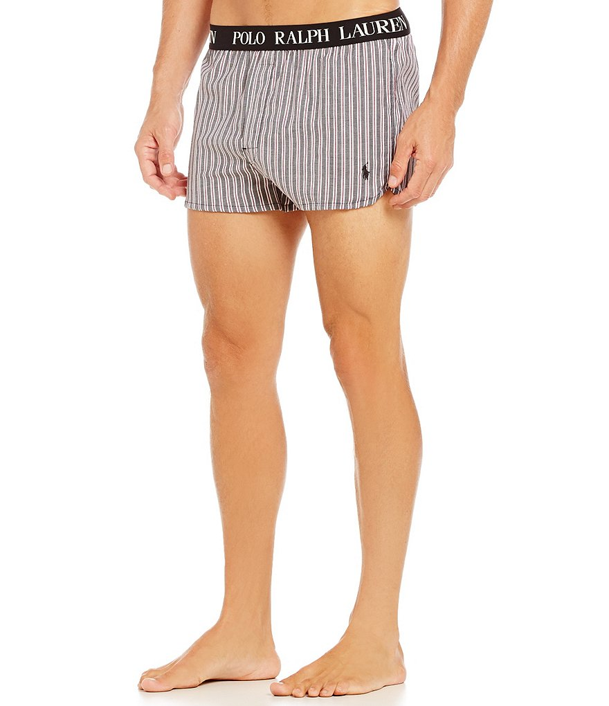 Polo Ralph Lauren Vintage Stretch Striped Woven Boxers