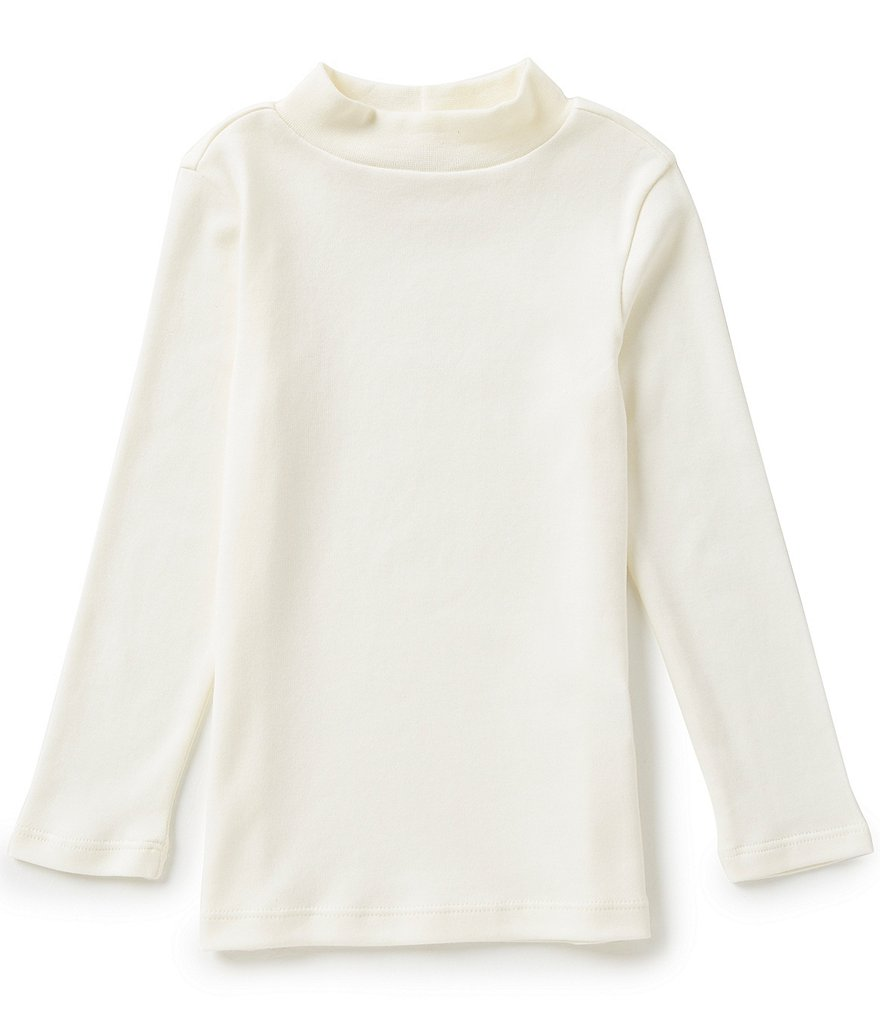 Copper Key Little Girls 2T-6X Mock Neck Top